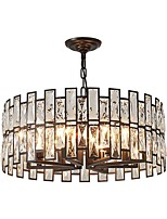 cheap -QIHengZhaoMing 8-Light Chandelier Ambient Light 110-120V / 220-240V, Warm White, Bulb Included