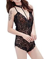 abordables -Costumes Vêtement de nuit Femme - Maille, Couleur Pleine / Jacquard