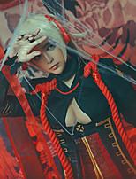 abordables -Inspiré par Destin / Grand ordre Okita Souji Manga Costumes de Cosplay Costumes Cosplay Nœud papillon N / C / Jupe / Nœud papillon Pour Femme Déguisement d'Halloween