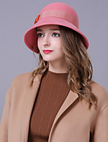 cheap -Women's Party / Holiday Bucket Hat - Color Block Bow