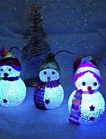 baratos -Decorações de férias Ano Novo / Decorações Natalinas Luzes de Natal / Enfeites de Natal Festa / Decorativa transparente 2pçs