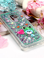 cheap -Case For Samsung Galaxy S9 Plus / S9 Shockproof / Pattern Back Cover Animal Soft TPU for S9 / S9 Plus / S8 Plus