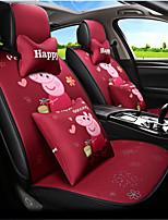 Недорогие -ODEER Чехлы на автокресла Чехлы для сидений Красный текстильный Мультяшная тематика / Общий Назначение Универсальный Все года Все модели