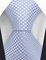 cheap -Men's Party / Work Necktie - Solid Colored / Color Block / Jacquard