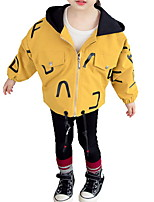 cheap -Toddler Girls' Solid Colored Long Sleeve Jacket & Coat