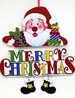 baratos -Enfeites de Natal Férias / Desenho De madeira Quadrada Novidades Decoração de Natal