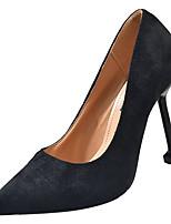 Недорогие -Жен. Полиуретан Осень Туфли лодочки Обувь на каблуках На шпильке Заостренный носок Черный / Зеленый / Розовый / Для вечеринки / ужина