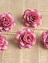 abordables -Fleurs artificielles 5 Une succursale Classique / Simple Elégant / style pastoral Roses Fleur de Table