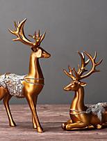 Недорогие -2pcs Резина Простой стиль / Европейский стиль для Украшение дома, Домашние украшения Дары