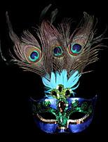 Недорогие -Праздничные украшения Украшения для Хэллоуина Маски на Хэллоуин Декоративная / Cool Лиловый 1шт