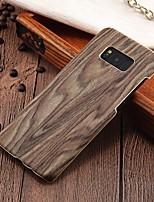 Недорогие -Кейс для Назначение SSamsung Galaxy S8 Plus / S8 Ультратонкий Кейс на заднюю панель Имитация дерева Твердый ПК для S8 Plus / S8 / S7 edge