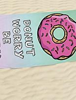 Недорогие -Высшее качество Пляжное полотенце, 3D-печати 100% полиэстер 1 pcs