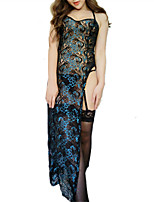 cheap -Women's Suits Nightwear - Lace / Mesh, Embroidered