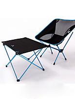"""Недорогие -BEAR SYMBOL Складное туристическое кресло / Туристический стол На открытом воздухе Легкость, Противозаносный, Складной Ткань """"Оксфорд"""", Алюминий 7075 для Рыбалка / Походы Синий"""