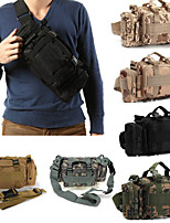 cheap -8 L Hiking Sling Backpack / Hiking Waist Bag - Rain-Proof, Wearable Outdoor Camping, Travel Nylon Grey, Camouflage, Khaki
