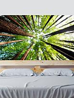 Недорогие -Цвет леса гостиной телевизор фоне наклейки на стену спальня прикроватные искусства украшения художественный орнамент обои стикер 1 комплект 2 шт.