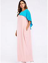 cheap -Women's Slim Sheath Dress High Waist Maxi / Fall