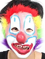 Недорогие -Праздничные украшения Украшения для Хэллоуина Маски на Хэллоуин / Хэллоуин Развлекательный Декоративная / Cool Цветастый 1шт