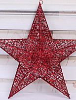 Недорогие -Рождественские украшения Праздник пластик / PVC Квадратный Оригинальные Рождественские украшения