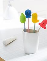 baratos -Armazenamento Armazenamento / Adorável Desenho silica Gel 4pçs - Limpeza Escova de Dentes e Acessórios