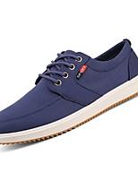 cheap -Men's PU(Polyurethane) Fall Comfort Sneakers Black / Gray / Blue