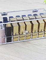 economico -Conservazione Organizzazione Organizzatore di trucco cosmetico Acrilico Forma irregolare Portatile / Flip-Open Cover