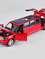 Недорогие -Игрушечные машинки Транспорт Вид на город Cool утонченный Металлический сплав Детские Для подростков Все Мальчики Девочки Игрушки Подарок 1 pcs