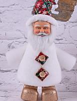 Недорогие -Рождественский декор Праздник Хлопковая ткань Квадратный Мультфильм игрушки Рождественские украшения
