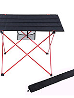 cheap -Camping Table Outdoor Lightweight, Folding, Easy to Install Oxford Cloth, 7075 Aluminium for Hiking / Camping Silver / Orange / Red