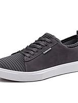Недорогие -Муж. Комфортная обувь Полиуретан Осень Кеды Черный / Серый / Хаки