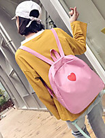 Недорогие -Универсальные Мешки синтетика рюкзак Однотонные Черный / Розовый / Небесно-голубой