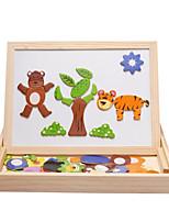 Недорогие -Игрушка для обучения чтению внедорожник Буквы Новый дизайн деревянный Все Дети / Детские Подарок 1 pcs