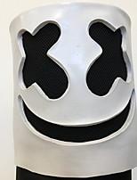abordables -Décorations de vacances Décorations d'Halloween Masques d'Halloween / Halloween divertissant Décorative / Cool Blanc 1pc