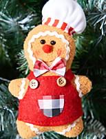 Недорогие -Рождественские украшения Праздник Хлопок куб Мультфильм игрушки Рождественские украшения