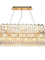 cheap -QIHengZhaoMing 10-Light Chandelier Ambient Light 230V / 110-120V / 220-240V, Warm White, Bulb Included