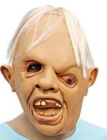 Недорогие -Праздничные украшения Украшения для Хэллоуина Маски на Хэллоуин Для вечеринок / Декоративная / Cool Светло-желтый 1шт