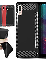 cheap -Case For Xiaomi Redmi S2 / Mi 8 Shockproof / Frosted Back Cover Solid Colored / Lines / Waves Soft TPU for Xiaomi Redmi Note 5A / Xiaomi Redmi Note 5 Pro / Xiaomi Redmi Note 4X