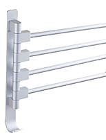abordables -Barre porte-serviette Design nouveau / Cool Moderne Aluminium 1pc Simple Montage mural