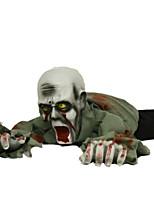 Недорогие -Праздничные украшения Украшения для Хэллоуина Хэллоуин Развлекательный / Декоративные объекты Декоративная / Cool Серый 1шт