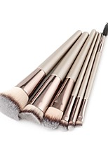 cheap -6-Pack Makeup Brushes Professional Make Up Nylon Brush Full Coverage Wooden / Bamboo