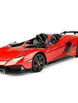 Недорогие -Машинка на радиоуправлении Rastar 57500 10.2 CM Инфракрасный Автомобиль 1:12 9 km/h КМ / Ч Быстрая зарядка / На пульте управления