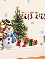 Недорогие -Рождество / Рождественские украшения Праздник / Мультяшная тематика PVC Квадратный Оригинальные Рождественские украшения