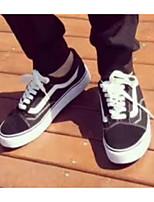 Недорогие -Муж. Комфортная обувь Полотно Весна На каждый день Кеды Черный
