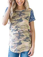 cheap -Women's Basic T-shirt - Camouflage