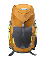 cheap -50 L Rucksack - Rain-Proof, Wearable, Breathability Outdoor Hiking, Camping, Travel Yellow, Red, Blue