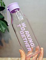 Недорогие -Drinkware Пластик Бутылка спорта Компактность / Мультфильмы 1 pcs