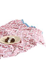 baratos -Super Suave, Impressão Reactiva Listrado Algodão cobertores