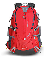 cheap -40 L Hiking Backpack - Wearable, Breathability Outdoor Hiking, Climbing, Ski Oxford Cloth, Nylon Red, Green, Blue