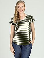 cheap -Women's Active / Basic T-shirt - Striped