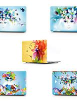 """Недорогие -MacBook Кейс Соблазнительная девушка / Цветы ПВХ для Новый MacBook Pro 13"""" / MacBook Air, 13 дюймов / MacBook 12''"""